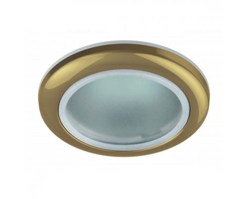 Эра C0043846 WR1 GD Светильник влагозащищенный MR16,12V220V, 50W золото