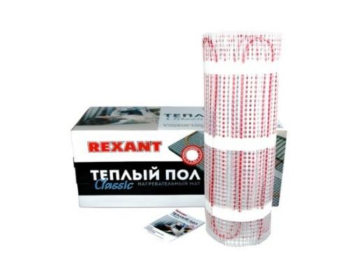 Rexant 51-0506-2 Тёплый пол (нагревательный мат) Classic RNX -3,0-450 (площадь 3,0 м2 (0,5 х 6,0 м)), 450 Вт, двухжильный с экраном