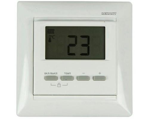 Rexant 51-0566 Терморегулятор цифровой RX-511H (белый) (совместим с Legrand серии Valena)