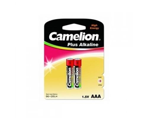 Camelion LR03 Plus Alkaline BL-2 (LR03-BP2, батарейка,1.5В) (2 шт. в уп-ке)