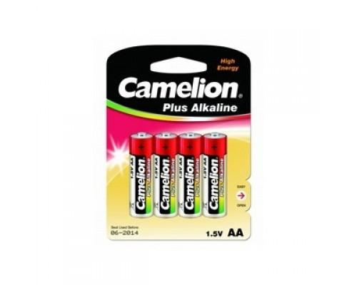 Camelion..LR 6 Plus Alkaline BL-4 (LR6-BP4, батарейка,1.5В) (4шт. в уп-ке)