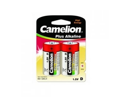 Camelion..LR20 Plus Alkaline BL-2 (LR20-BP2, батарейка,1.5В) (2 шт. в уп-ке)