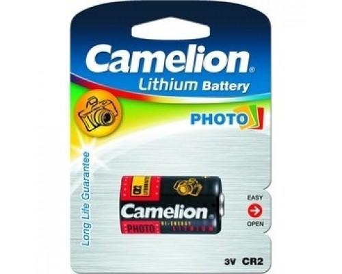 Camelion CR2 BL-1 (CR2-BP1, батарейка фото,3В) (1 шт. в уп-ке)