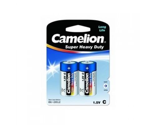 Camelion R14 Blue BL-2 (R14P-BP2B, батарейка,1.5В)