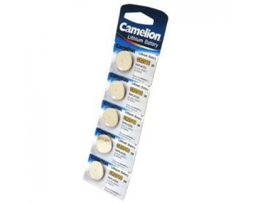 Camelion.CR2016 BL-5 (CR2016-BP5, батарейка литиевая,3V) (5 шт. в уп-ке)