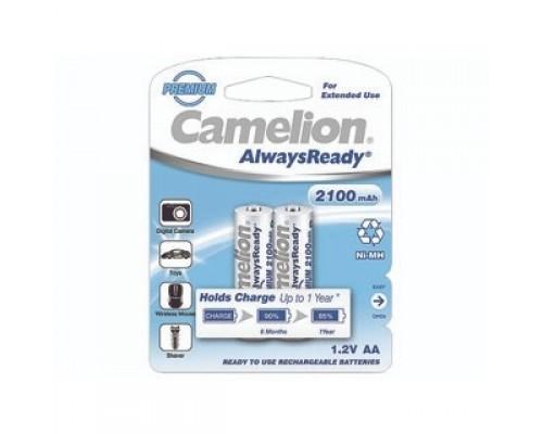 Camelion AA- 2100mAh Ni-Mh Always Ready BL-2 (NH-AA2100ARBP2, аккумулятор, 1.2В) (2 шт. в уп-ке)