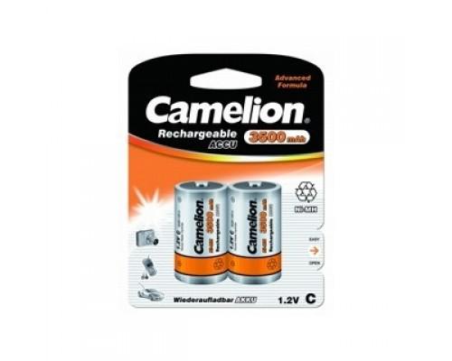 Camelion C- 3500mAh Ni-Mh BL-2 (NH-C3500BP2, аккумулятор,1.2В) (2 шт. в уп-ке)