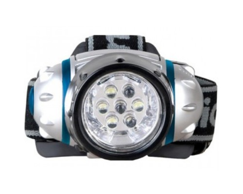 Camelion LED5310-7F3 (фонарь налобн, металлик, 7LED, 3 реж, 3XR03 в компл, пласт, блист)