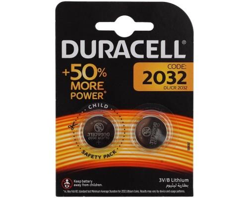 Duracell CR2032-2BL (2 шт. в уп-ке)