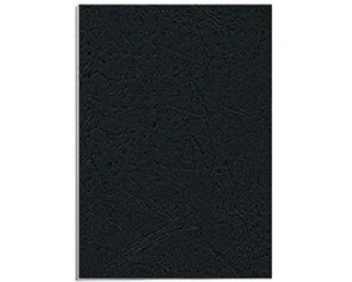 Fellowes Обложки для переплета Delta FS-53738 (A4, черный, 25 шт., тиснение под кожу)