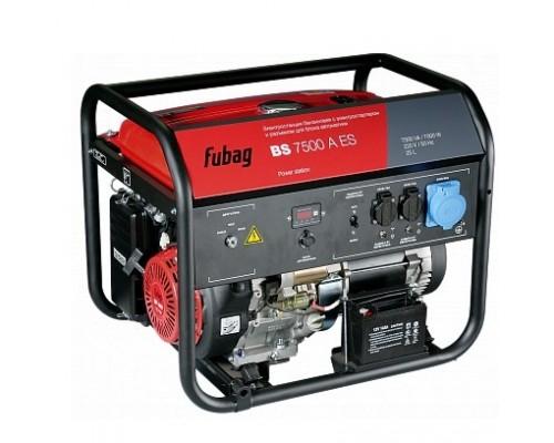 FUBAG BS 7500 A ES 838760 7.3/7.0 кВА, 29.5 А, 25 Объем бака, л, 220 В, 93 Вес, кг