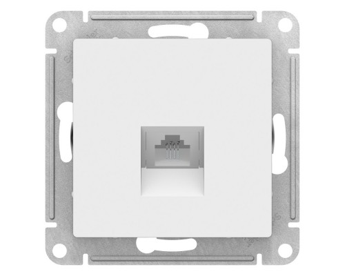 Schneider-electric ATN000183 ATLASDESIGN РОЗЕТКА компьютерная RJ45, механизм, БЕЛЫЙ