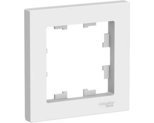 Schneider-electric ATN000101 ATLASDESIGN 1-постовая РАМКА, БЕЛЫЙ