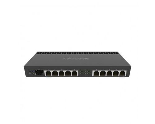 MikroTik RB4011iGS+RM Маршрутизатор 1.4ГГц, 4 ядра, 1GB RAM, 512MB NAND, 10x 10/100/1000 LAN, 1 SFP+