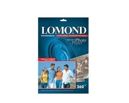 Бумага LOMOND 1103101 Суперглянцевая фотобумага A4, 260г/м2, 20