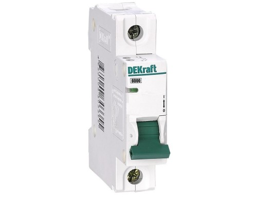 Schneider-electric 12062DEK Авт. выкл. 1Р 40А х-ка C ВА-103 6кА DEKraft