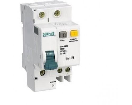 Schneider-electric 15156DEK АВДТ со встр. защ. от сверхтоков 1P+N 10А 30мА AC С ДИФ-101