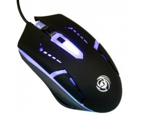 Мышь MGK-03U Dialog Gan-Kata игровая, 4 кнопки + ролик, 7-ми цветная подсветка, USB, черная