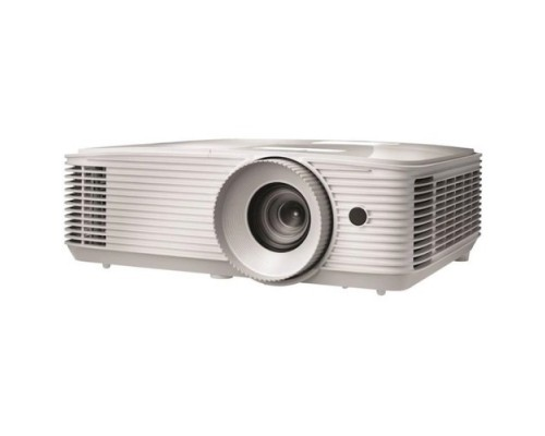 Optoma EH334 Full 3D;DLP, Full HD(1920x1080), 3600 ANSI Lm, 20000:1,16:9; TR=1.47:1 - 1.62:1; HDMI (1.4a 3D support) + MHL; VGAx1; Composite; AudioIN x1; VGA Out; Audio Out 3.5mm; RS232; USB