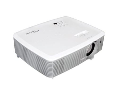 Optoma EH400 95.78E01GC0E DLP 1920x1080 4000Lm, 22000:1; TR 1.47 - 1.63:1; HDMI x2; MHL; VGA IN; Composite; Audio IN 3,5mm; VGA Out; Audio Out; RS232; USB A Power (5V-1A); 2W