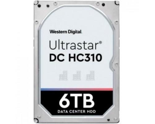 Жесткий диск 6Tb Western Digital Ultrastar DC HC310 SATA 6Gb/s, 7200 rpm, 256mb buffer, 3.5 0B36039/HUS726T6TALE6L4