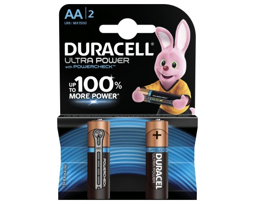 DURACELL LR6-2BL Ultra Power (2 шт. в уп-ке)