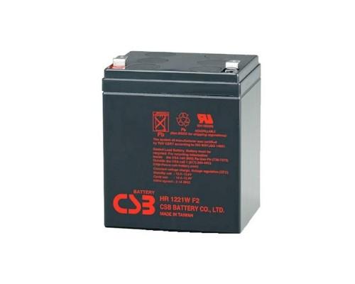 CSB Батарея HR1227W (12V 7,5Ah F2)