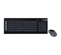 + мышь Oklick 220M черный, USB, беспроводная 1062000