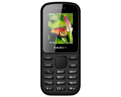 TEXET 130-TM Мобильный телефон цвет черный-красный