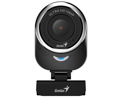 Genius QCam 6000 Black 1080p Full HD, вращается на 360°, универсальное крепление, микрофон, USB 32200002400/32200002407