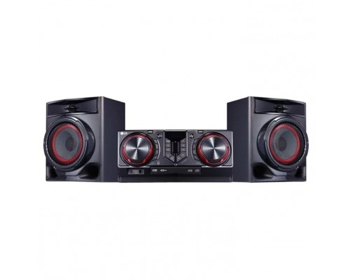 LG CJ44 черный 720Вт/CD/CDRW/FM/USB/BT
