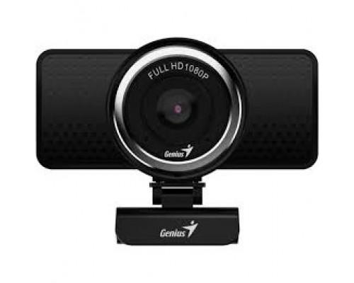 Genius ECam 8000 Black 1080p Full HD, вращается на 360°, универсальное крепление, микрофон, USB 32200001406