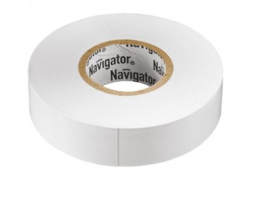 Navigator 71102 Изолента NIT-B15-20/WH белая