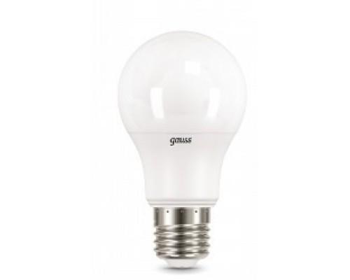 GAUSS 102502210 Светодиодная лампа LED A60 10W E27 920lm 4100K 1/10/50