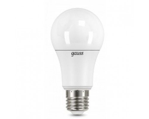 GAUSS 102502112 Светодиодная лампа LED A60 шар 12W E27 1150lm 3000K 1/10/50