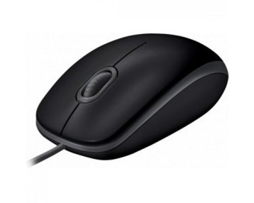 910-005508 Logitech B110 SILENT черный/серый оптическая (1000dpi) USB2.0 для ноутбука (2but)