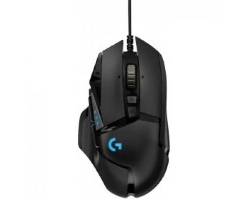 910-005470 Logitech G502 Laser Gaming Mouse RGB Tunable 16000dpi USB HERO