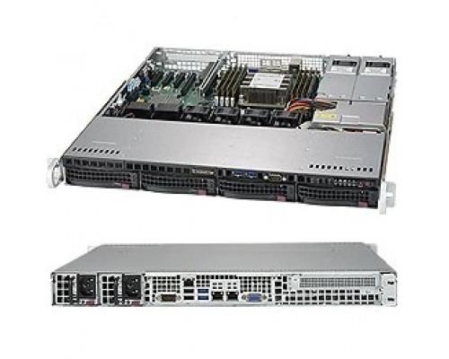 .платформа SuperMicro SYS-5019P-MTR 1U 1xS3647 TDP205W 4LFF 2x10GbE 1xFH 2x400W