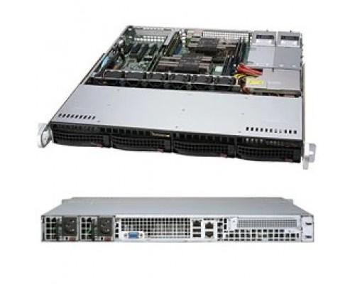 Supermicro SYS-6019P-MTR ная платформа 1U SATA SYS-6019P-MTR SUPERMICRO