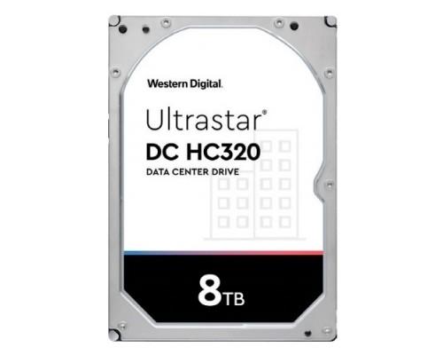 8Tb WD Ultrastar DC HC320 (HUS728T8TAL5204) SAS 12Gb/s, 7200 rpm, 256mb buffer, 3.5 (0B36400)