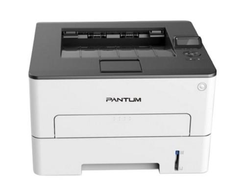 P3300DN Принтер лазерный, монохромный, двусторонняя печать, А4, 33 стр/мин, 1200 х 1200dpi, 256МБ RAM, лоток 250 листов, USB, RJ45, серый корпус