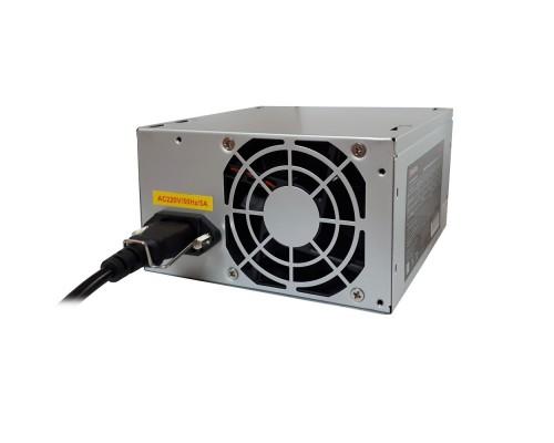 Exegate EX253682RUS-S Блок питания AA400, ATX, SC, 8cm fan, 24p+4p, 2*SATA, 1*IDE + кабель 220V с защитой от выдергивания