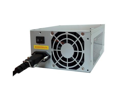 Exegate EX219183RUS-S Блок питания AB400, ATX, SC, 8cm fan, 24p+4p, 3*SATA, 2*IDE, FDD + кабель 220V с защитой от выдергивания