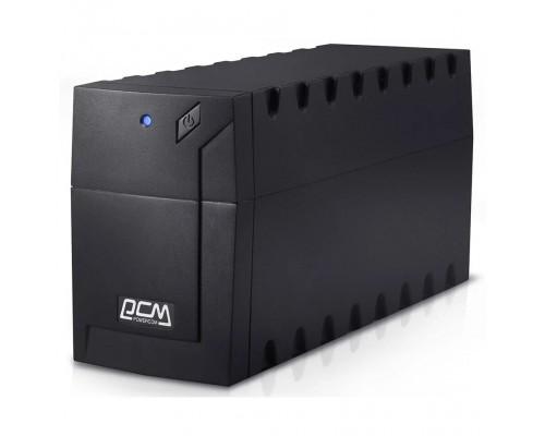 UPS PowerCom RPT-600AP EURO Line-Interactive, 600VA / 360W, Tower, Schuko, USB 859793