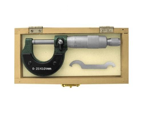 FIT IT Микрометр наружный 0 - 25 мм/ 0,01 мм 19909