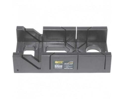 FIT РОС Стусло пластиковое без пилы черное 300 мм х 100 мм Профи 41256