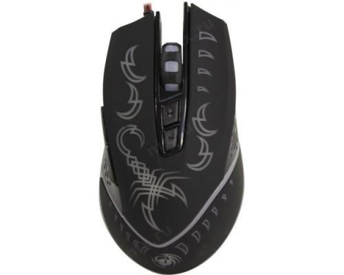MGK-20U Dialog Gan-Kata - игровая, 7 кнопок + ролик , 7-ми цветная подсветка, USB, черная