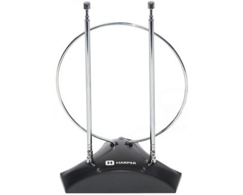 Антенны для цифровых приставок DVB-T2 HARPER ADVB-2010 Усиление: 5-7 dB; Сопротивление: 75 ?; Коэффициент шума: ?3 Длина кабеля: 1,5 м