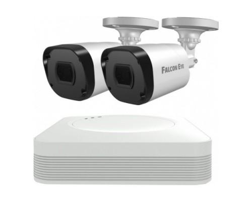 Falcon Eye FE-104MHD KIT Light SMART Комплект видеонаблюдения 4-х канальный гибридный(AHD,TVI,CVI,IP,CVBS) регистратор; Видеовыходы: VGA;HDMI; Видеовходы: 4xBNC