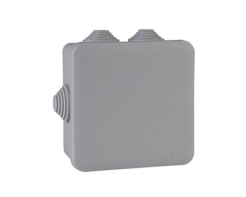 Schneider Electric IMT35091 Коробка распределительная 100х100х50мм IP55 серая